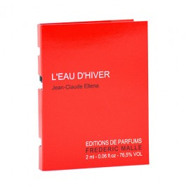 Frederic Malle L'eau d'Hiver Women's and Men's EdP 2mL
